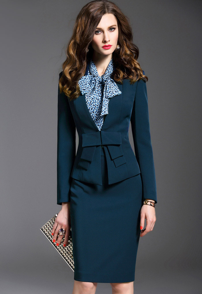 JyoyuuBoutique | Rakuten Global Market: Setup suit skirt suit ...