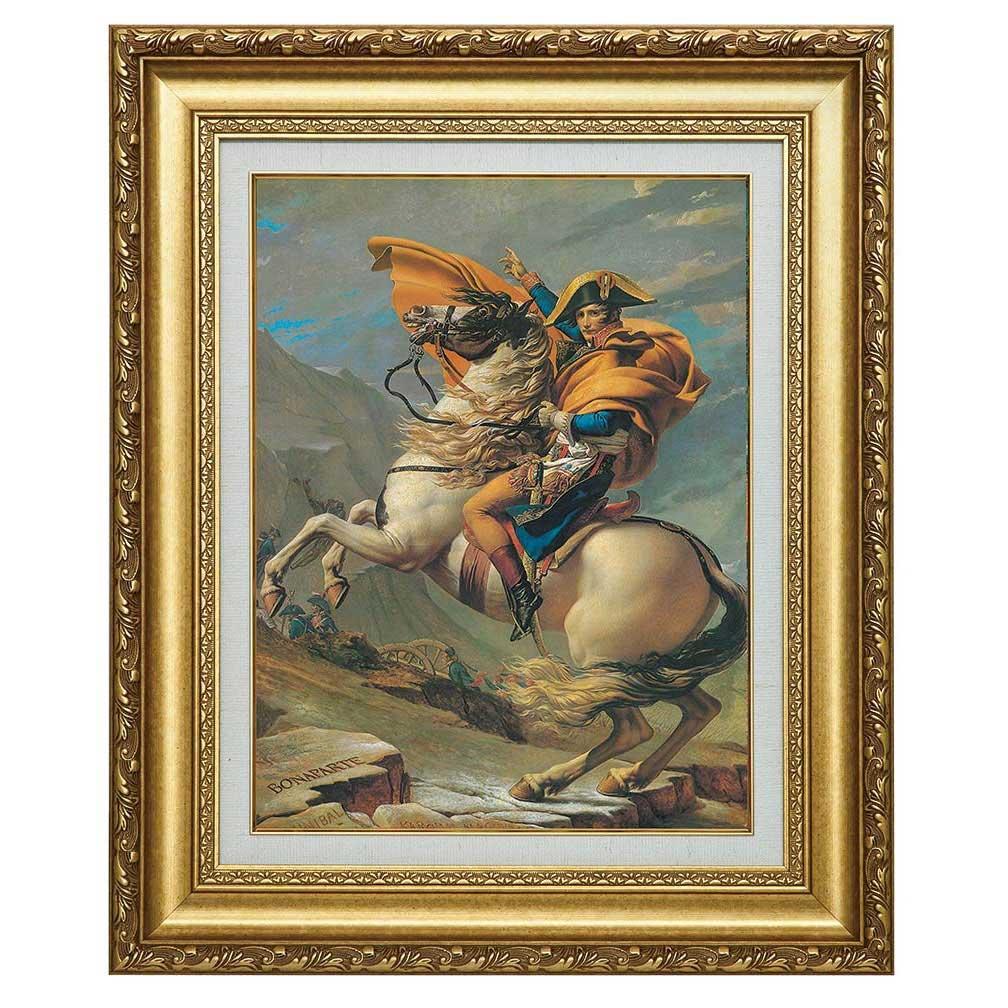 立体複製名画 ルイ・ダヴィッド 「ナポレオン」 美術品 レプリカ 壁掛け インテリア