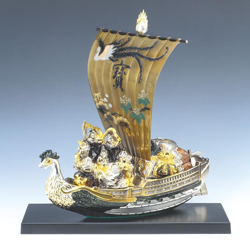 七福宝船 しちふくたからぶね 美術品 開運