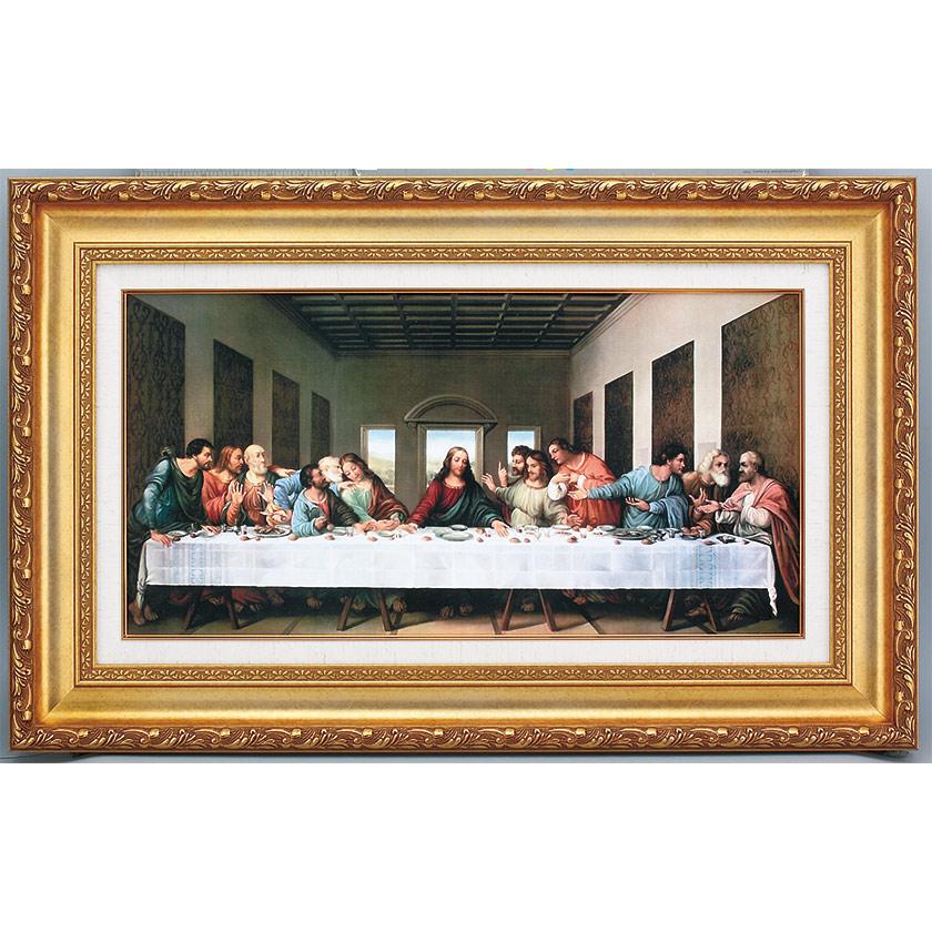 ダ・ヴィンチ 最後の晩餐 立体複製名画