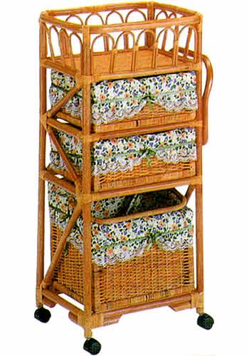 ラタン チェスト ランドリーボックス K99: 籐家具 ラタンチェスト 収納 アジアン 高品質 送料無料 K-Style