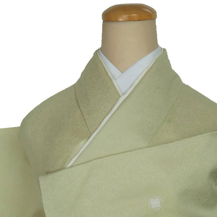 リサイクル着物 色留 中古着物 色留袖 身丈159cm Mサイズ 裄64cm 三つ紋きもの レディース着物 a1m1m5y4【中古】【留袖リサイクル】比翼仕立て 正絹