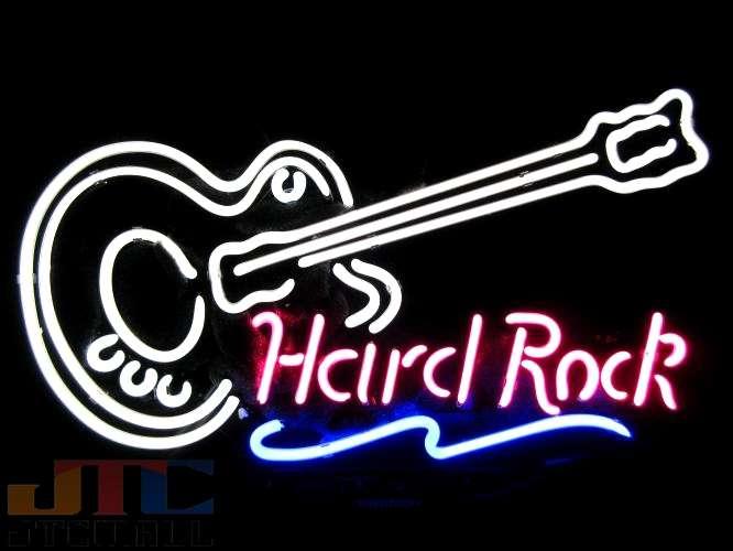 【海外直輸入商品・納期1週間〜3週間程度】 F116 Hard Rock 【全国送料送料無料・沖縄・離島を除く】 アメリカン雑貨 店舗用 ネオン看板 NEON SIGN 広告 ネオンサイン 看板 ネオン管