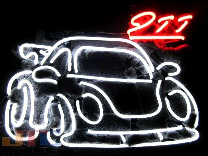 黒枠土台部分のサイズ:縦43cmX横50cmコードの長さ:約1m 特大ネオンサイン ガレージ 壁掛け 西海岸 アメリカ アメリカン カリフォルニア サーフ ハワイアン 【海外直輸入商品・納期1週間~3週間程度】【全国送料送料無料・沖縄・離島を除く】T716 PORSCHE ポルシェ 911 車 ネオン看板 ネオンサイン 広告 店舗用 NEON SIGN アメリカン雑貨 看板 ネオン管