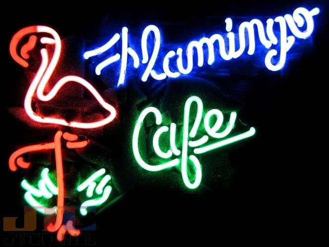 【海外直輸入商品・納期1週間~3週間程度】【全国送料送料無料・沖縄・離島を除く】T81 FLAMINGO CAFE フラミンゴ カフェ ネオン看板 ネオンサイン 広告 店舗用 NEON SIGN アメリカン雑貨 看板 ネオン管
