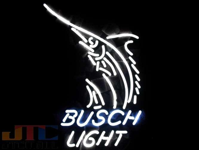 【1つ限り 在庫あり 即日発送可能】【全国送料送料無料・沖縄・離島を除く】T415 Busch Light Beer ネオン看板 ネオンサイン 広告 店舗用 NEON SIGN アメリカン雑貨 看板 ネオン管