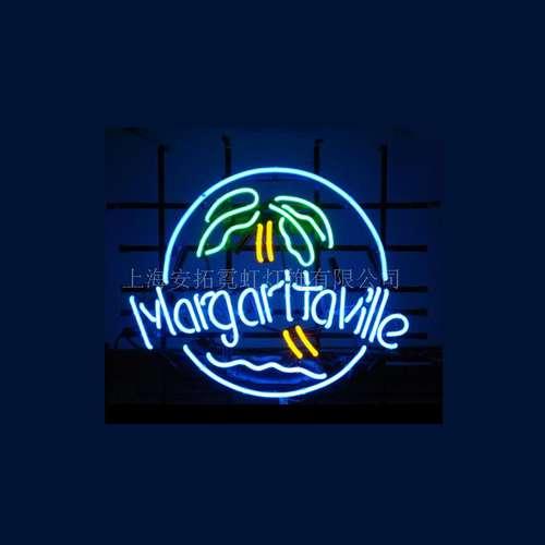 【海外直輸入商品・納期1週間~3週間程度】【全国送料送料無料・沖縄・離島を除く】Margaritaville マーガリータビル ネオン看板 ネオンサイン 広告 店舗用 NEON SIGN アメリカン雑貨 看板 ネオン管