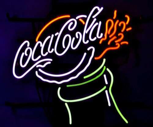 【海外直輸入商品・納期1週間~3週間程度】【全国送料送料無料・沖縄・離島を除く】 コカ・コーラ Coca-Cola ネオン看板 ネオンサイン 広告 店舗用 NEON SIGN アメリカン雑貨 看板 ネオン管