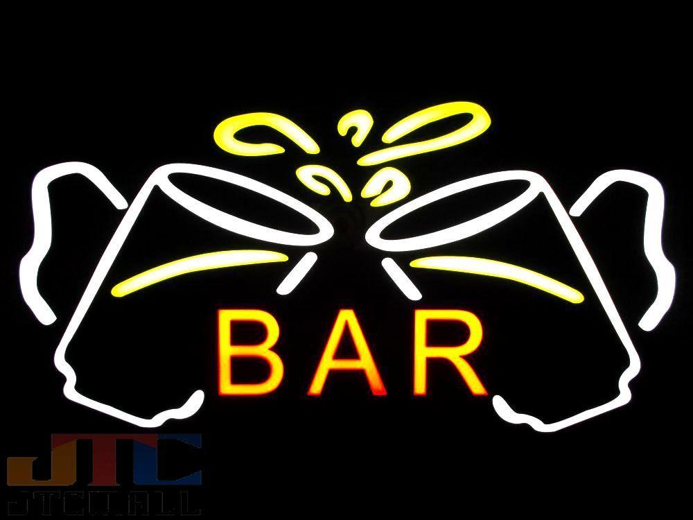 【LED看板はメーカーの生産終了に伴い、今ある在庫限りで販売終了となります。】BAR ビールジョッキ LED ネオン看板 ネオンサイン 広告 店舗用 アメリカン雑貨 看板 ネオン管