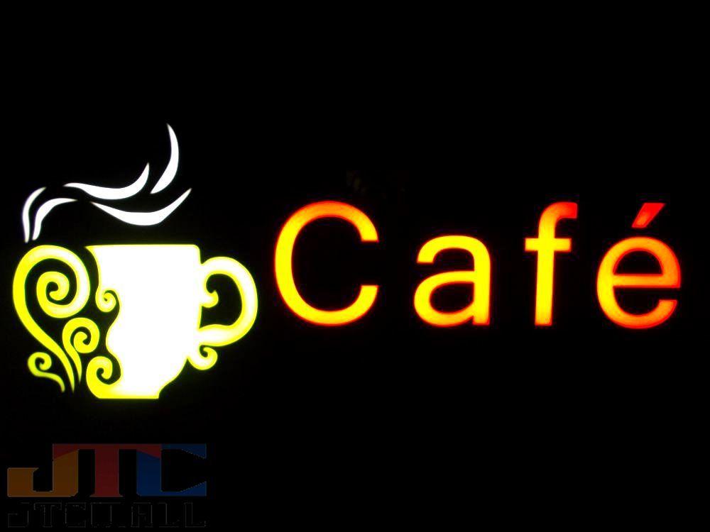 全体サイズ:約縦23cmX横43cmX厚み4cm コードの長さ:約1m LED看板 省エネ CAFE BAR 西海岸 アメリカ アメリカン カリフォルニア サーフ ハワイアン 【LED看板はメーカーの生産終了に伴い、今ある在庫限りで販売終了となります。】Cafe カフェ LED ネオン看板 ネオンサイン 広告 店舗用 アメリカン雑貨 看板 ネオン管