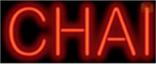 【海外直輸入商品・納期1週間~3週間程度】【全国送料送料無料・沖縄・離島を除く】A91 CHAI チャイ 広告 店舗用 NEON SIGN アメリカン雑貨 看板 ネオン管