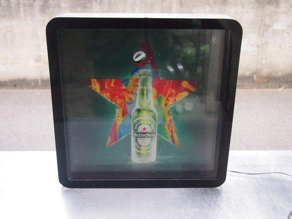 人気ショップが最安値挑戦 お届け先に法人名 店舗名 の記載が必要です 個人名のみでは発送が出来ません Heineken E170313G@ハイネケン看板 専門店の安心の1ヶ月保証付 激安卸販売新品