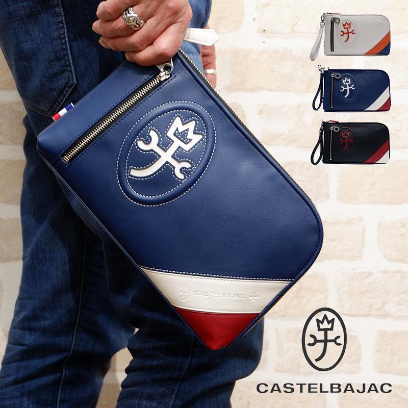 カステルバジャック CASTELBAJAC クラッチバッグ Hugo ユゴー 047211 メンズ レディース カジュアル ブランド PVC 防水 撥水 ビジカジ ビジネス セカンドバッグ 23-047211