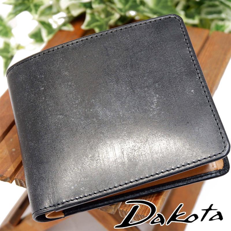 Dakota BLACK LABEL ダコタ ブラックレーベル ロバスト 折財布 二つ折り財布 メンズ 本革 牛革 ブライドルレザー ブランド 0627400