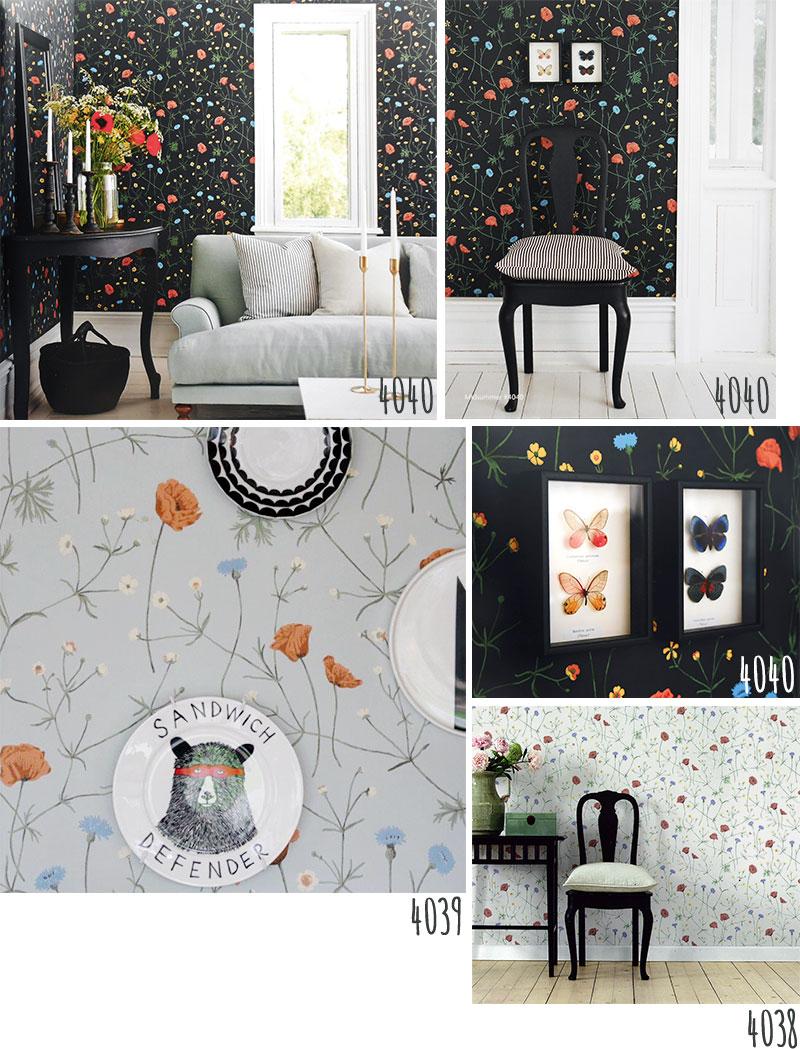 Kabegamikakumei: Non-woven Wallpaper Falsterbo Falsterbo