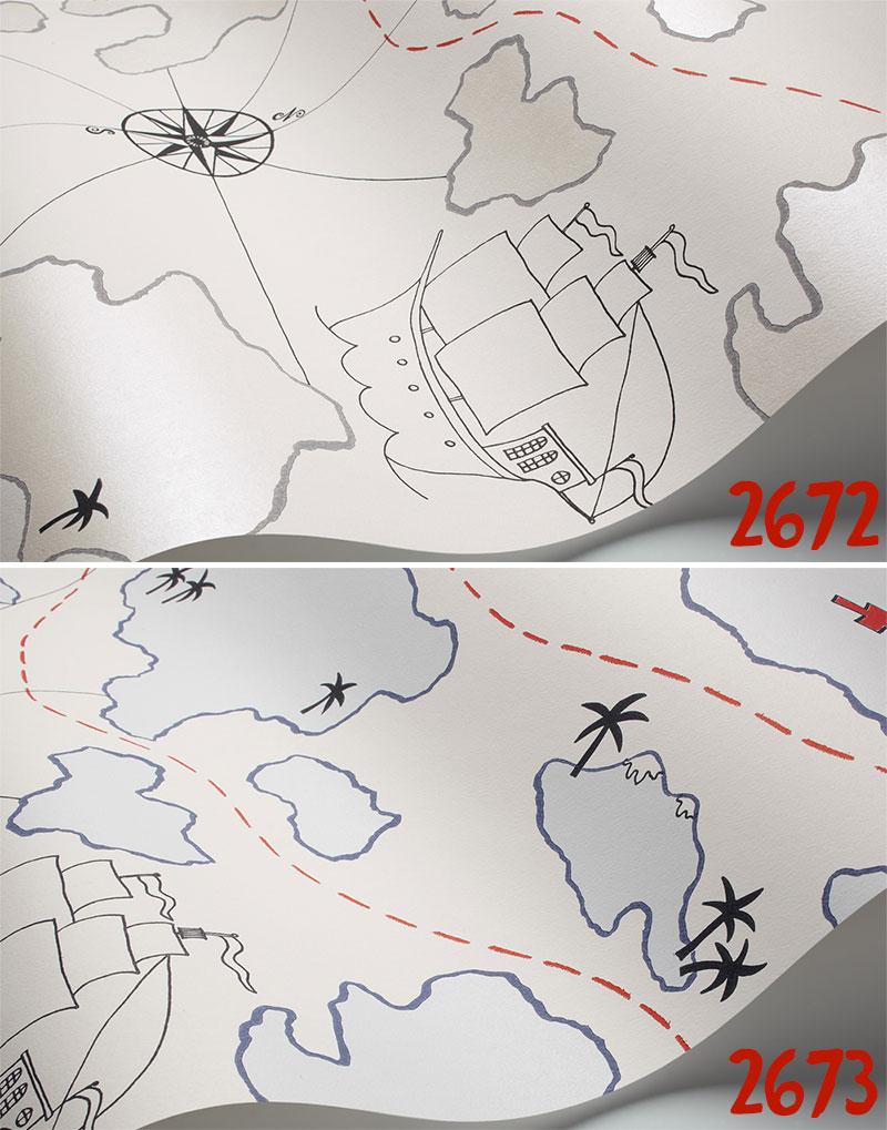 Kabegamikakumei Rakuten Global Market Nonwoven Wallpaper - Sweden map boras