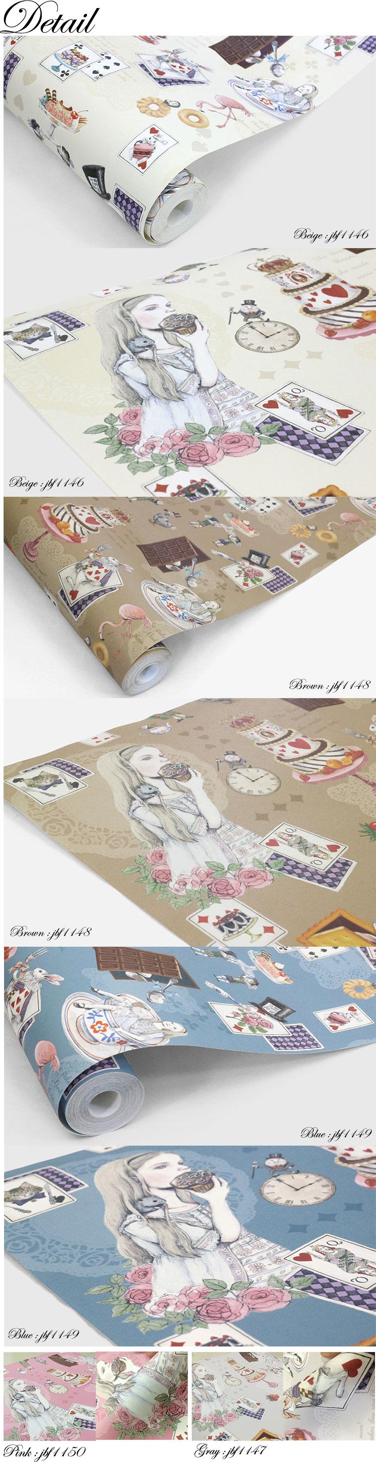 Wonderland Wallpaper, Wallpaper Sweets ~ Candy Wonderland Of Fellowpeel  Off Wallpaper Digital Print