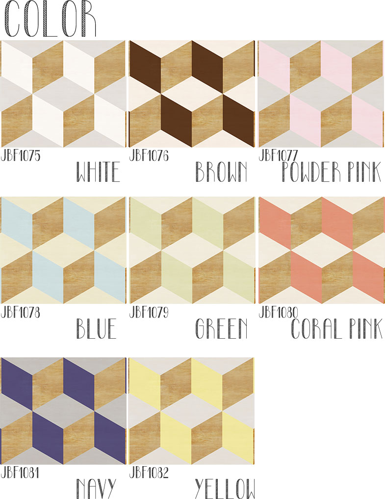 Nonwoven Wood Cube Fabric Digital Print Wallpaper And Peel Off Wallpaper  Wood Cube Wood
