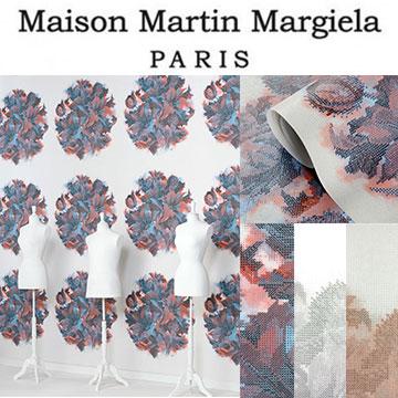 Nonwovens Imported Wallpaper Fleece Wallpapers Omexco Maison Martin Margiela Maison Martin Margiela Cloth Wallpaper Belgium Luxury Gorgeous Geometric