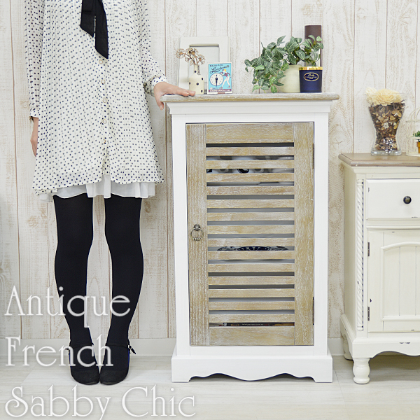 Louver Box Cabinet Antique [Shaker Furniture French Country] And [Shabby  Chic White House Fixture White Storage Shelves With Door Storage Kitchen  Shelf ...