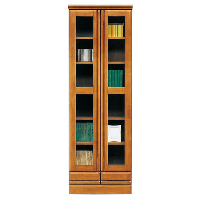 Bookshelf Bookcase Gl Door With Slim Wooden Completed Domestic Magazine Rack Children Den Fashionable Doors Book