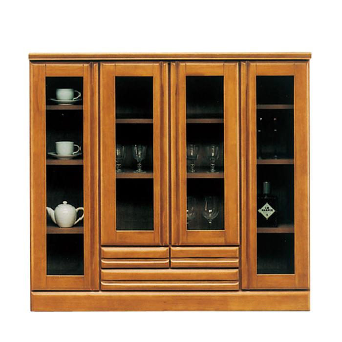 【幅120cm】食器棚 キッチンボード サイドボード キッチン 収納 完成品 木製 国産/食器 収納 キッチン収納 幅120 高さ110cm 開き戸 日本製 |【ジェロ 120】開梱設置無料 激安 セール アウトレット価格