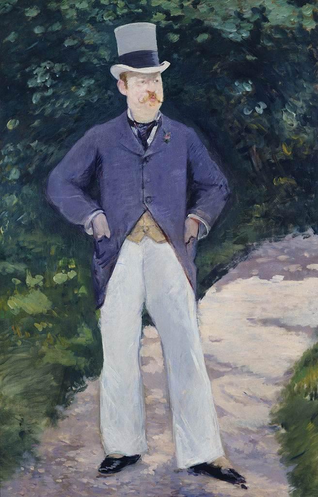 絵画 インテリア 額入り 壁掛け複製油絵エドゥアール・マネ ブラン氏の肖像 M20サイズ M20号 727x500mm 絵画 インテリア 額入り 壁掛け 油絵