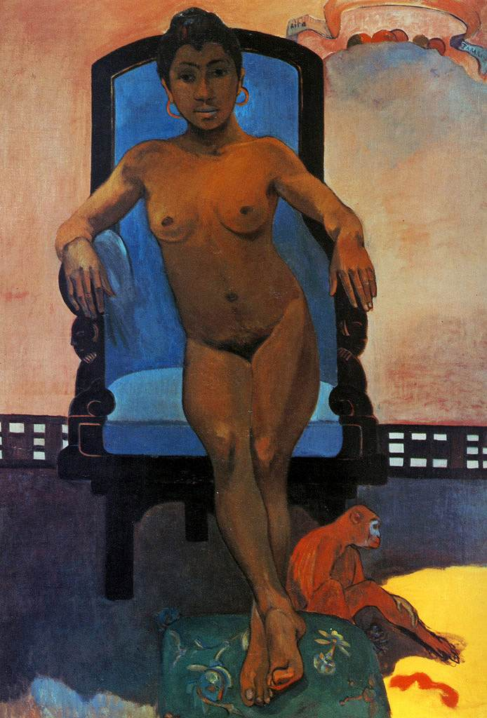 絵画 インテリア 額入り 壁掛け複製油絵 ポール・ゴーギャン ジャワの女、アンナ P15サイズ P15号 652x500mm 油彩画 複製画 選べる額縁 選べるサイズ