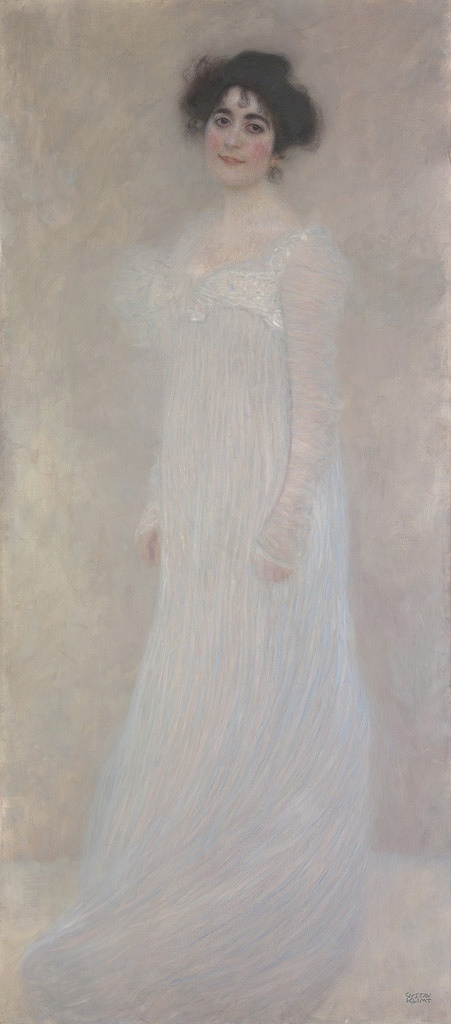油絵 グスタフ・クリムト セレーナ・レーデラの肖像 F12サイズ F12号 606x500mm 油彩画 絵画 複製画 選べる額縁 選べるサイズ