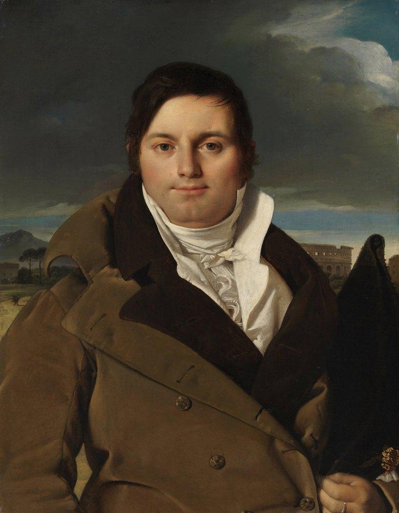 油絵 ドミニク・アングル ジョゼフ・アントワーヌ・モルテドの肖像F12サイズ F12号606x500mm 油彩画 絵画 複製画 選べる額縁 選べるサイズYb6Ifgyv7