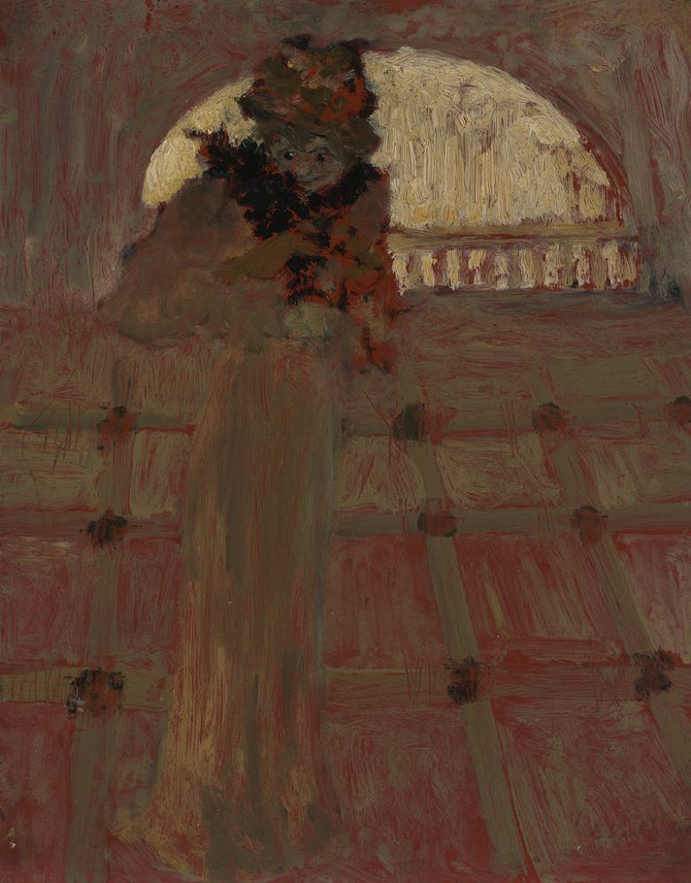 絵画 インテリア 額入り 壁掛け複製油絵エドゥアール・ヴュイヤール オペラにて F20サイズ F20号 727x606mm 絵画 インテリア 額入り 壁掛け 油絵