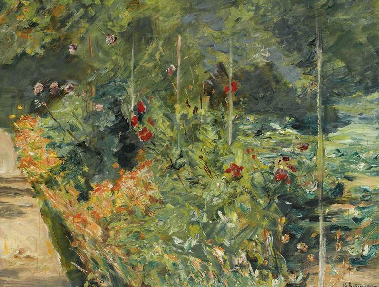 マックス・リーバーマン ヴァンゼー庭園 P30サイズ P30号 910x653mm 絵画 インテリア 額入り 壁掛け複製油絵 マックス・リーバーマン