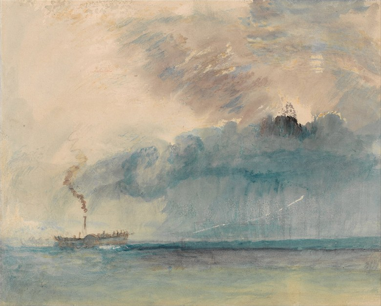 絵画 インテリア 額入り 壁掛け複製油絵ジョゼフ・マロード・ウィリアム・ターナー 嵐の中の外輪船 F15サイズ F15号 652x530mm 油彩画 複製画 選べる額縁 選べるサイズ