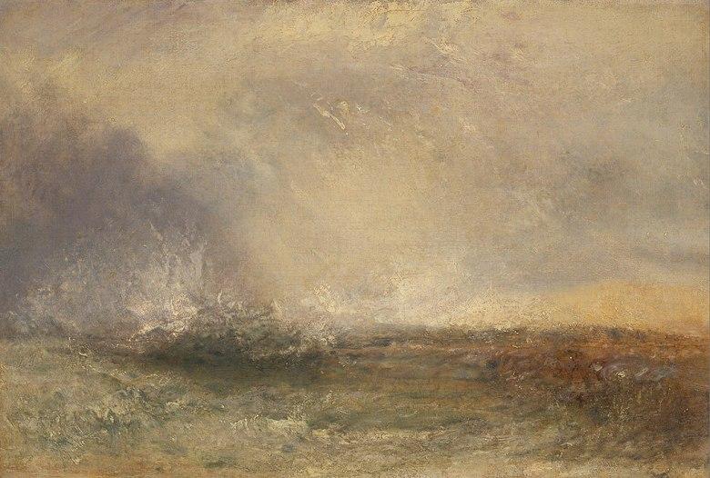 絵画 インテリア 額入り 壁掛け複製油絵ジョゼフ・マロード・ウィリアム・ターナー 嵐の海 P15サイズ P15号 652x500mm 油彩画 複製画 選べる額縁 選べるサイズ