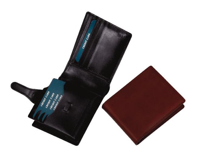 便利なアイテムPULMIELEプルミエール二つ折財布(カード入)(No.2288)