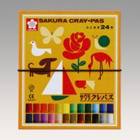 18%OFF クレパス太巻24色 おすすめ特集 LP24R