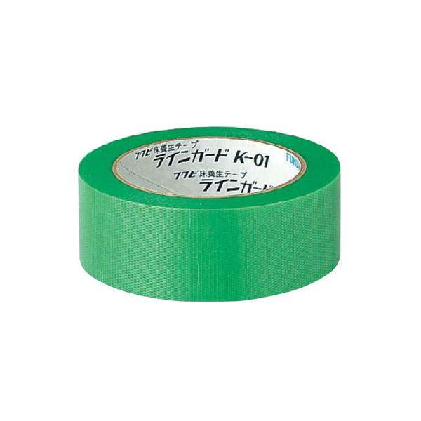 フクビ 床養生テープ ラインガード K-01 LGK0138 巾38ミリx25m巻 36巻入箱単位 代引き不可