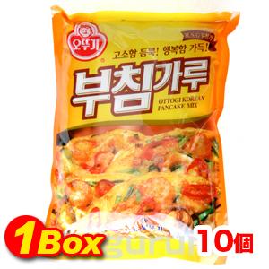 ★【送料無料】★  チヂミ粉1kg×10個【1BOX】■韓国食品■韓国 韓国チヂミ チヂミ ジョン/韓国風お好み焼き/韓国料理/激安【YDKG-s】