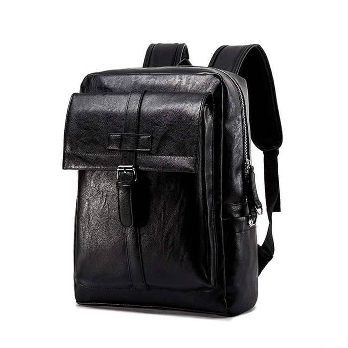 シンプルなデザインと 高い機能性で 毎日使いたくなるPUレザーバックパック PUレザーバックパック ビジネスリュック メンズ 鞄 男性 出張 リュックサック バッグ フォーマル 希望者のみラッピング無料 上質 父の日 ブラック A4収納 通学 送料無料 カジュアル ランキングTOP5 通勤対応 防水 大容量 黒 ブラウン 15.6型インチ