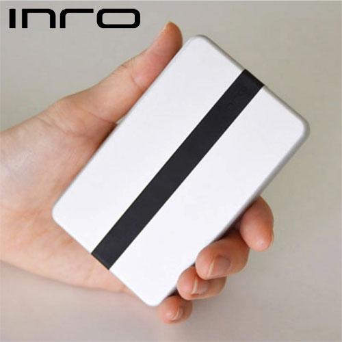 あらゆる記入作業を スマートに一瞬で 安全 2WAY 高品質モバイルスタンプ インロー シルバー INRO 正規品