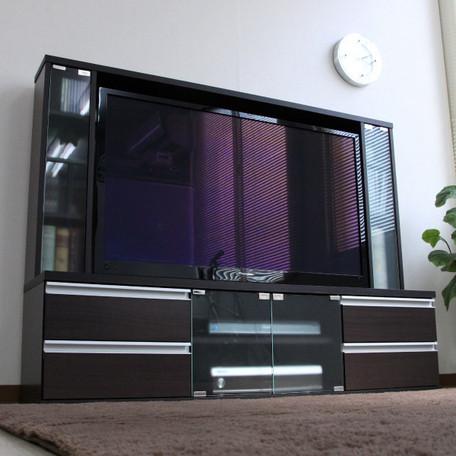 5/20はカードご利用で5倍50インチ対応 壁面収納テレビ台 ゲート型 幅150cm 奥行36cm 引き出し4杯 TV台 テレビラック AVボード ローボード AVラック テレビボード