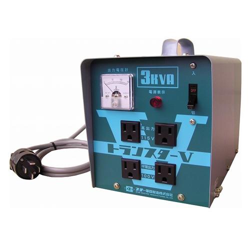 5/9-16 お買い物マラソン最大44倍/スズキット トランスターV STV-3000 200V降圧機 変圧器 4991945008762