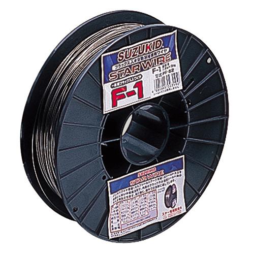 5/9-16 お買い物マラソン最大44倍/スズキット スターワイヤー F-1 Φ0.9 0.9×3.0KG 1.0-5.0mm PF-52 軟鋼用 溶接ワイヤー 溶接棒 溶棒 半自動溶接機 アーク溶接機 4991945023185