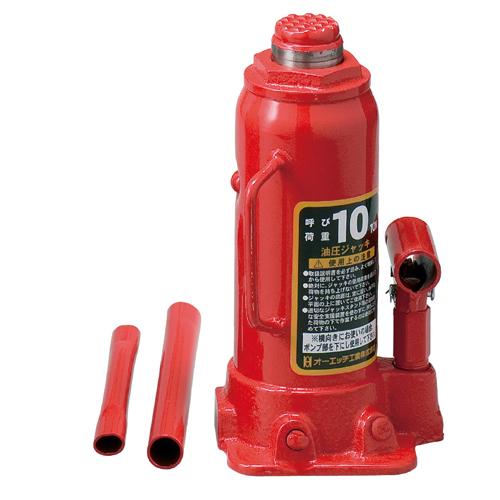 5/9-16 お買い物マラソン最大44倍/OH 油圧ジャッキ 10ton OJ-10T 最高位460m 最低位230mm オーバーロード防止機構付 ボトルジャッキ 4963360500411