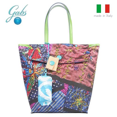 レディースバッグ イタリア製 軽量 トートバッグ GABS ガブス AGNESTUDIO-E16 Mサイズ 210_RICAMI 刺繍