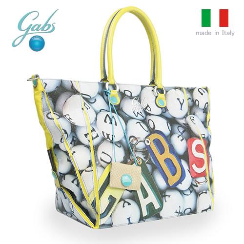 レディースバッグ イタリア製 6WAYバッグ GABS ガブス CYNDISTUDIO-E16 Lサイズ S0197 PALLINE ボール