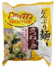 どんぶり麺・きつねうどん77.3g×4個セット【トーエー】