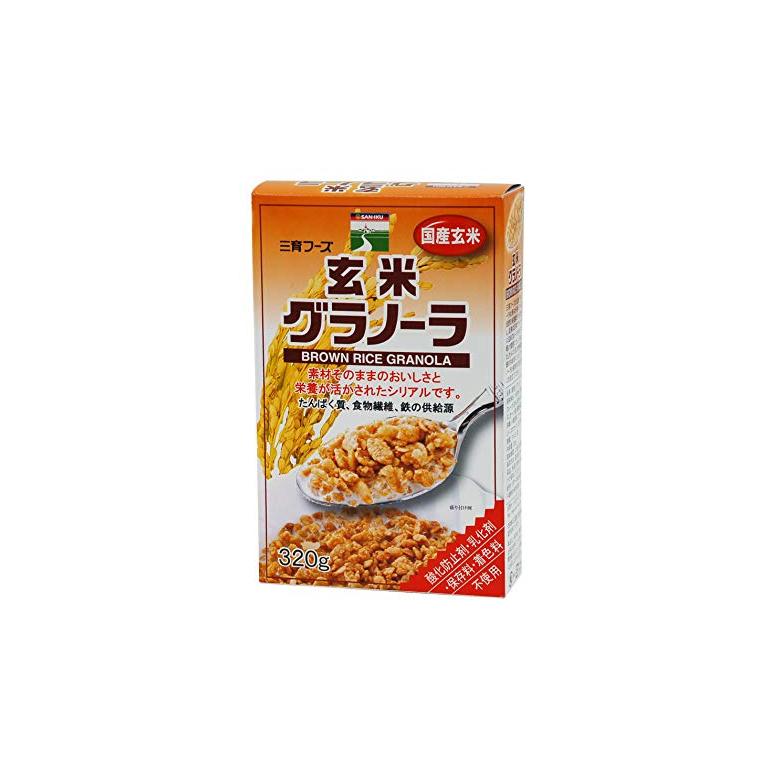 穀類 ナッツ類をミックス 酸化防止剤不使用 激安 乳化剤不使用 シリアル食品 1006322-kfmsko 三育フーズ 新商品 新型 400g グラノーラ