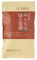 国内正規品 公式 国内産はと麦100%香ばしく甘みがあるノンカフェイン はとむぎ茶 水出しお湯だしOK 3002837-os 国内産みんなのはと麦茶 160g 1個はメール便対応可 小川生薬 8g×20