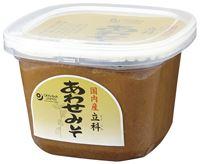 格安店 国内産米 麦 大豆使用 米味噌と麦味噌をブレンド 甘みがあり味わい深い 受賞店 合せ味噌 3006058-os 国内産立科あわせみそ 合せみそ 750g オーサワ